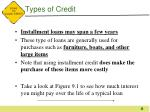 types of credit4