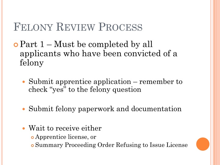 Felony Review Process