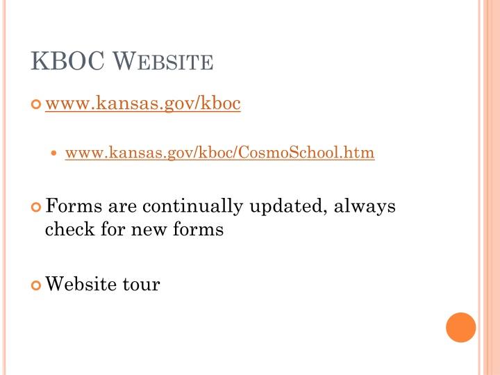 KBOC Website