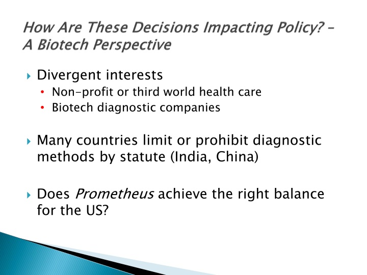 How Are These Decisions Impacting Policy? – A