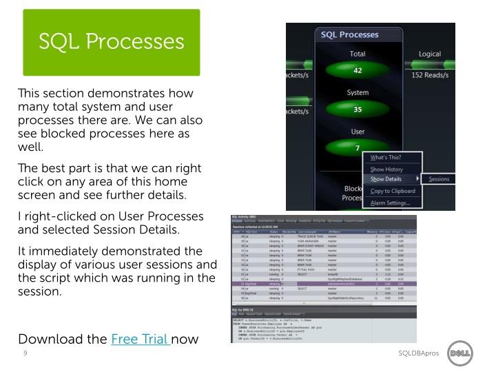 SQL Processes