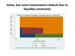 same but some homeowners default due to liquidity constraints