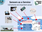 sensors as a service cell phones are important sensor