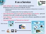 x as a service