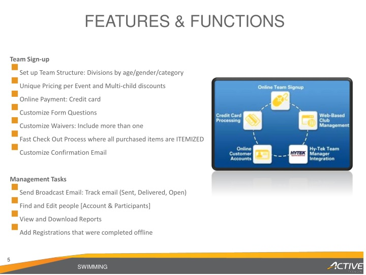 FEATURES & FUNCTIONS