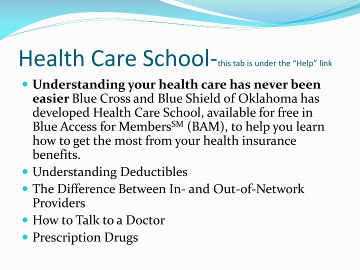 Health Care School-