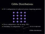 gibbs distributions