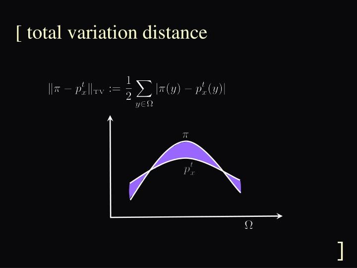 [ total variation distance