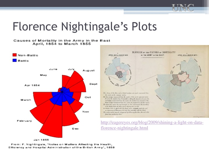 Florence Nightingale's Plots