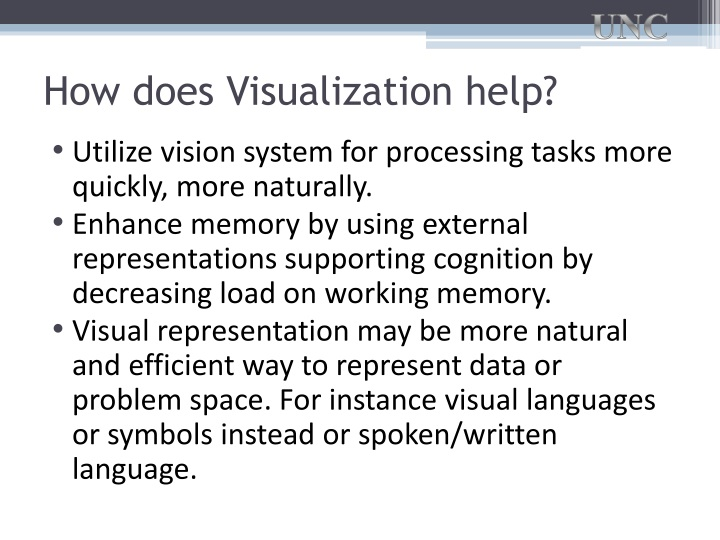 How does Visualization help?