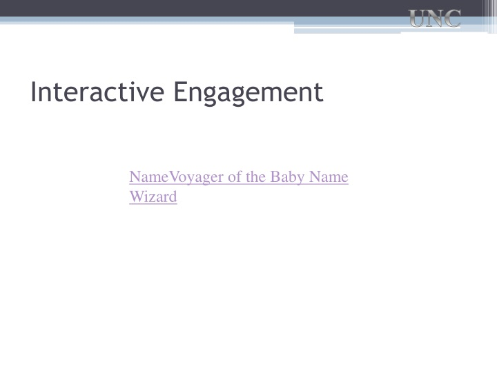 Interactive Engagement