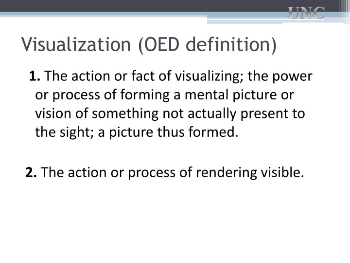 Visualization (OED definition)