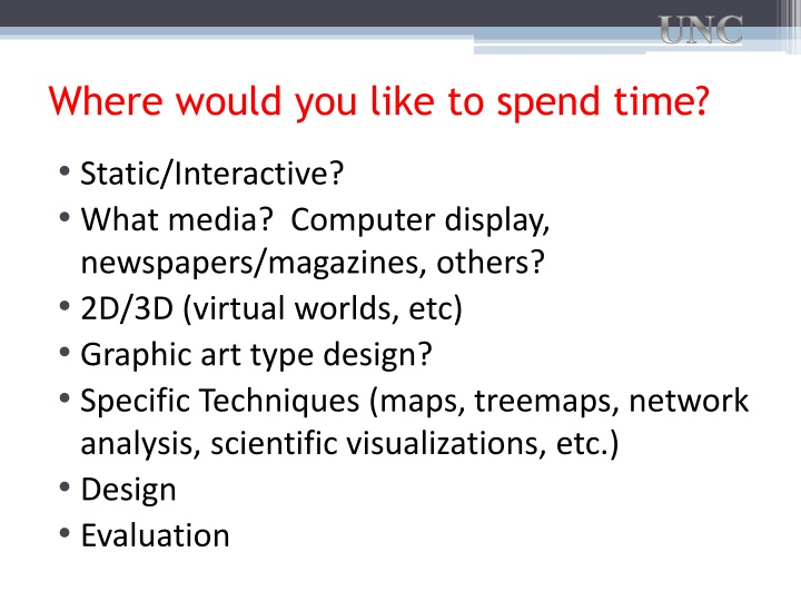 Where would you like to spend time?