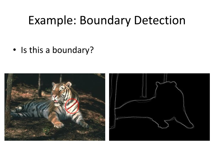 Example: Boundary Detection