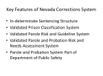 key features of nevada corrections system