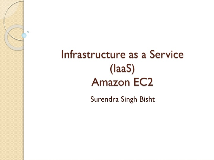 Infrastructure as a service iaas amazon ec2