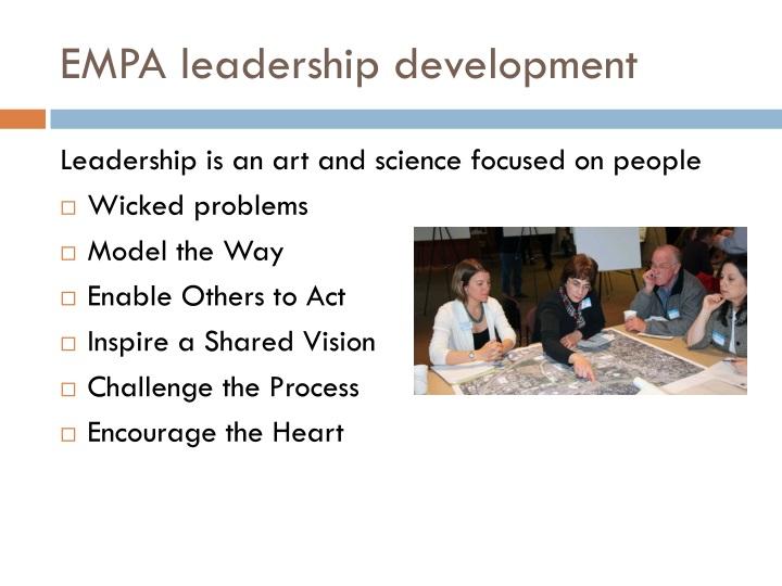 EMPA leadership development