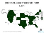 states with tamper resistant form laws
