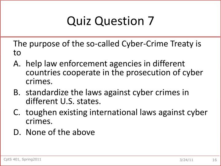 Quiz Question 7