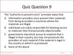 quiz question 9