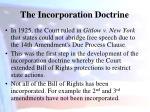 the incorporation doctrine1