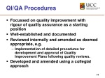 qi qa procedures