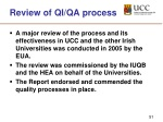 review of qi qa process