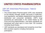 united states pharmacopeia