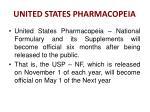 united states pharmacopeia1