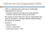 veterans service organizations vso