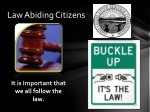 law abiding citizens