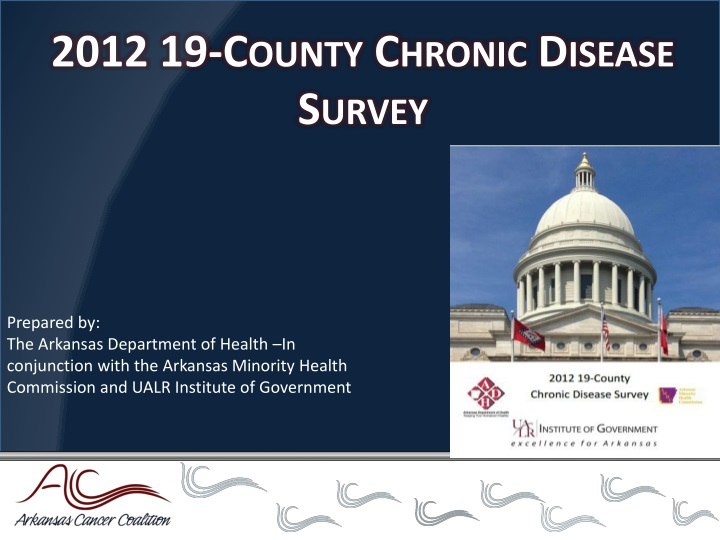 2012 19-County Chronic Disease Survey