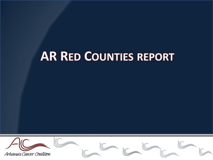 AR Red Counties report