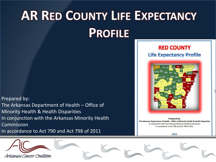 AR Red County Life Expectancy Profile