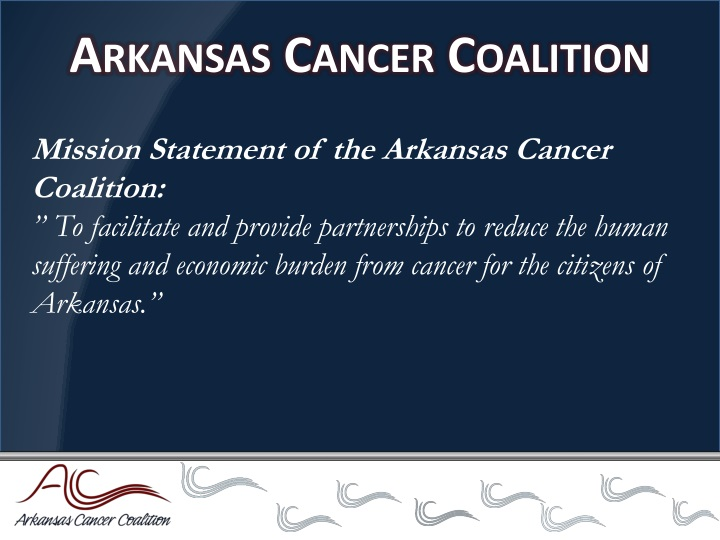 Arkansas cancer coalition