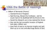 1066 the battle of hastings