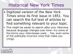 historical new york times