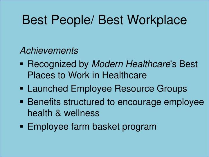 Best People/ Best Workplace