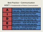 best practice communication aidet 5 fundamentals of patient communication