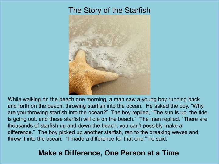 The Story of the Starfish