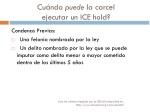 cu ndo puede la carcel ejecutar un ice hold