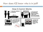 how does ice know who is in jail
