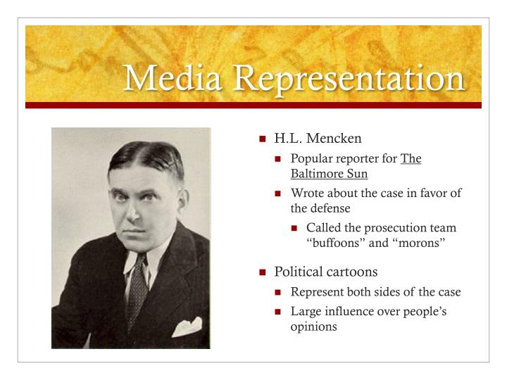 Media Representation