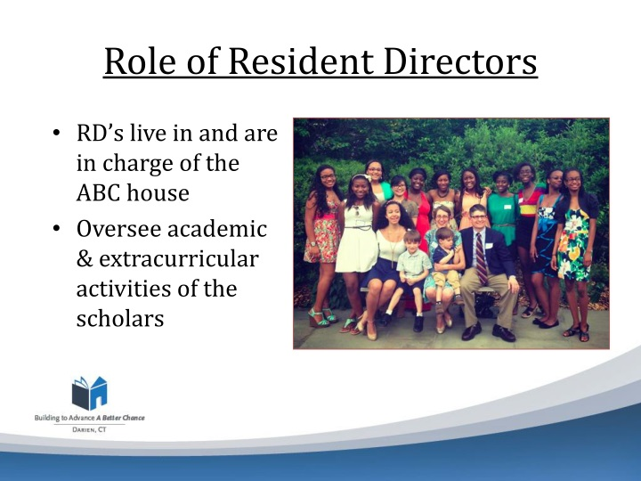 Role of Resident Directors