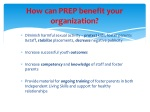 how can prep benefit your organization