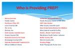 who is providing prep