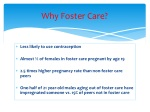 why foster care