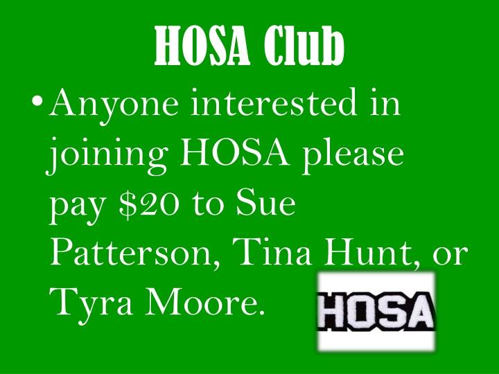 HOSA Club
