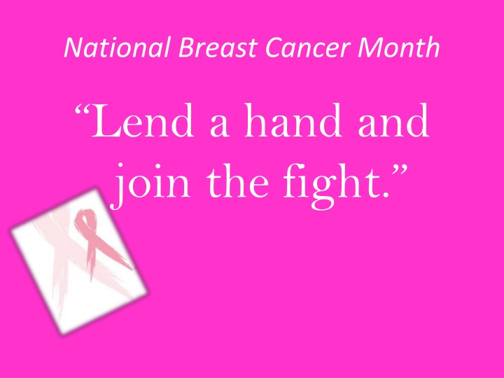 National breast cancer month