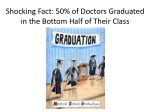 shocking fact 50 of doctors graduated in the bottom half of their c lass